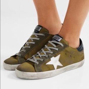 Authentic Golden Goose Super Star Sneakers